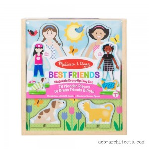 Melissa & Doug Best Friends Dress Up - Sale
