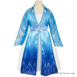 Disney Frozen 2 Elsa Travel Dress, Size: Small, MultiColored - Sale