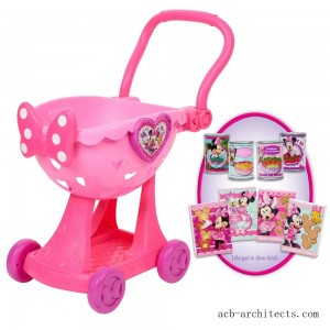 Disney Minnie's Happy Helpers Bowtique Shopping Cart - Sale