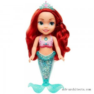 Disney Princess Sing & Sparkle Ariel Bath Doll - Sale