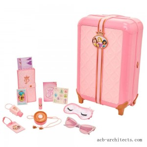 Disney Princess Style Collection Play Suitcase Travel Set - Sale