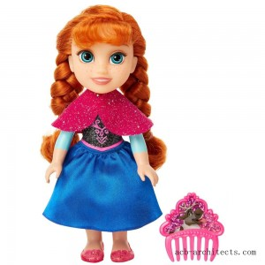 Disney Princess Petite Anna Fashion Doll - Sale