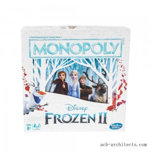 Monopoly Game: Disney Frozen 2 Edition Board Game - Sale
