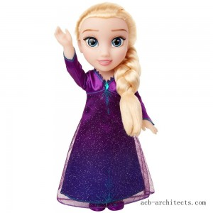 Disney Frozen 2 Into The Unknown Singing Feature Elsa Doll - Sale