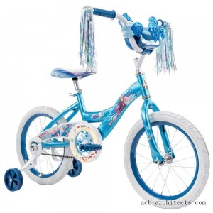 "Huffy Disney Frozen 2 16"" Bike - Blue, Girl's - Sale"
