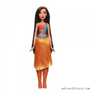 Disney Princess Royal Shimmer - Pocahontas Doll - Sale