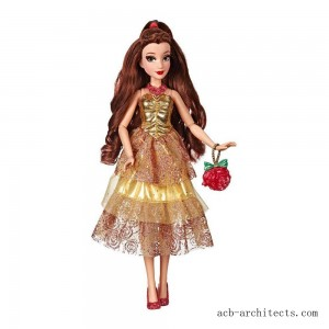 Disney Princess Style Series - Belle Doll in Contemporary Style with Purse & Shoes - Sale