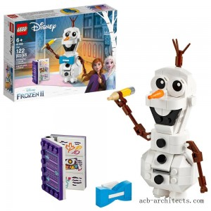 LEGO Disney Frozen 2 Olaf 41169 Olaf Snowman Toy Figure Building Kit 122pc - Sale
