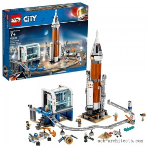 LEGO City Space Deep Space Rocket and Launch Control 60228 Model Rocket Building Kit with Minifigures - Sale