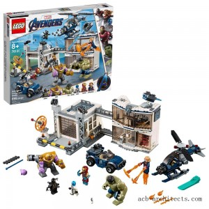 LEGO Marvel Avengers Compound Battle Collectibles Building Set with Superhero Minifigures 76131 - Sale