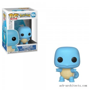 Funko POP! Games: Pokemon - Squirtle - Sale