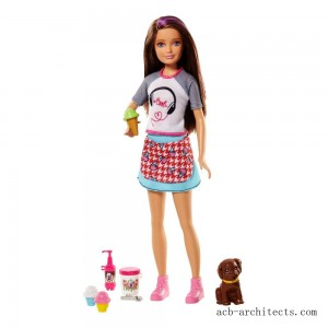 Barbie Sisters Skipper Doll and Ice Cream Accessory Set - Sale