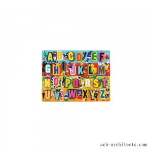 Melissa & Doug Jumbo ABC Wooden Chunky Puzzle (26pc) - Sale