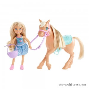 Barbie Chelsea Doll & Pony Playset - Sale