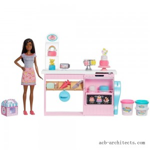 Barbie Cake Bakery Playset - Sale