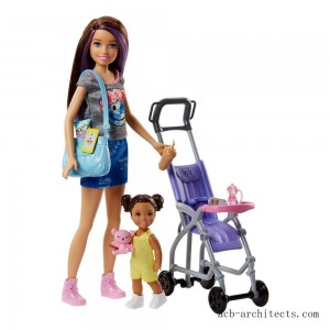 Barbie Skipper Babysitters Inc. Doll and Stroller Playset - Sale