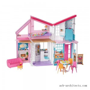 Barbie Malibu House Doll Playset - Sale