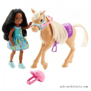 Barbie Club Chelsea Doll & Pony - Sale