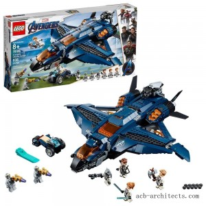 LEGO Marvel Avengers Ultimate Quinjet 76126 - Sale