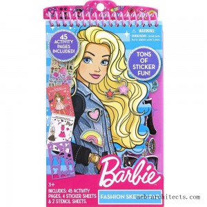 Barbie Fashion Sketch Pad - Sale