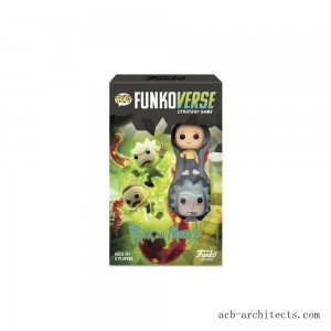 Funkoverse Board Game: Rick and Morty #100 Expandalone, Adult Unisex - Sale