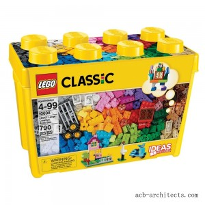 LEGO Classic Large Creative Brick Box 10698 Build Your Own Creative Toys, Kids Building Kit - Sale