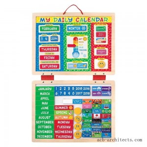 Melissa & Doug My First Daily Magnetic Calendar - Sale