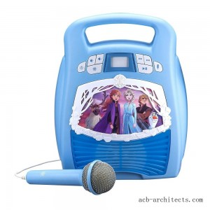 Disney Frozen 2 MP3 Karaoke Light Show with Microphone - Sale