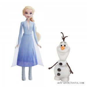 Disney Frozen 2 Talk and Glow Olaf and Elsa Dolls - Sale