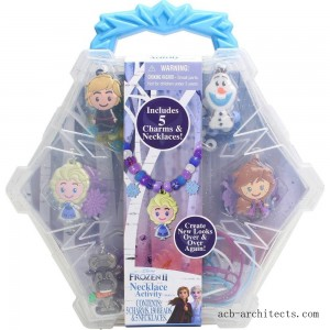 Disney Frozen 2 Necklace Activity Set - Sale