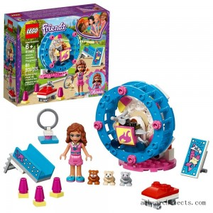 LEGO Friends Olivia's Hamster Playground 41383 - Sale