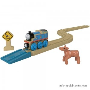 Fisher-Price Thomas & Friends Wood Straights & Curves Track Pack - Sale