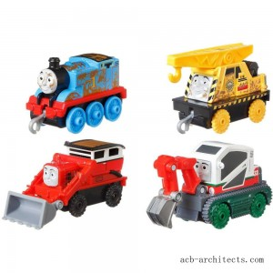 Fisher-Price Thomas & Friends Fall Themed Push Along 4pk - Sale