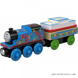 Fisher-Price Thomas & Friends - Birthday Thomas the Tank Engine - Wood - Sale
