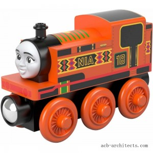Fisher-Price Thomas & Friends Wood Nia Engine - Sale