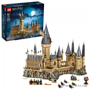 LEGO Harry Potter Hogwarts Castle Advanced Building Set Model with Harry Potter Minifigures 71043 - Sale