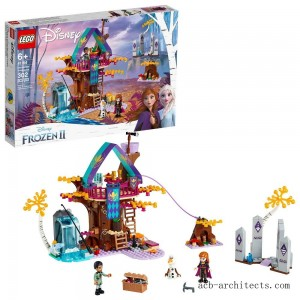 LEGO Disney Princess Frozen 2 Enchanted Treehouse 41164 Toy Treehouse Building Kit for Pretend Play - Sale