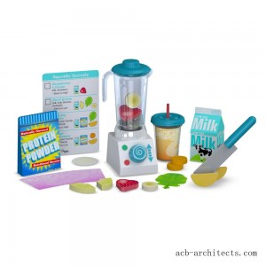 Melissa & Doug 24pc Smoothie Maker Blender Set - Sale