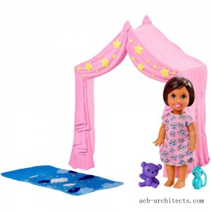 Barbie Skipper Babysitter Inc. Doll & Sleepover Playset - Sale