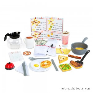 Melissa & Doug Star Diner Restaurant Play Set - Sale