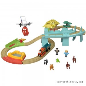 Fisher-Price Thomas & Friends Wood Big World Adventure Set - Sale