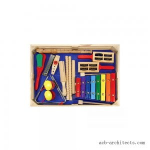 Melissa & Doug Deluxe Band Set With Wooden Musical Instruments and Storage Case - Sale