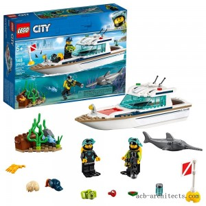 LEGO City Diving Yacht 60221 - Sale