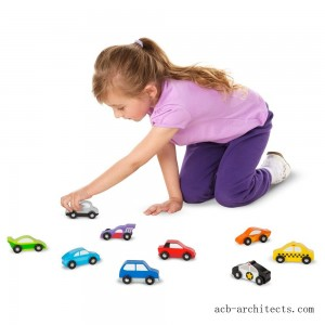 Melissa & Doug Wooden Car Set - Sale