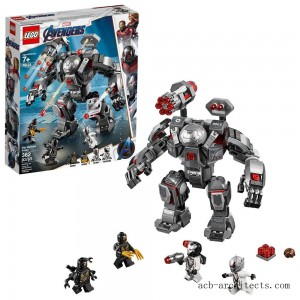 LEGO Marvel Avengers War Machine Buster 76124 - Sale