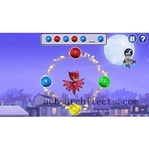 PJ Masks Time to Be a Hero Learning Game Ages 3-5 yrs. - Sale