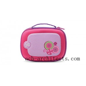 "LeapFrog® 5"" Carrying Case (Pink) Ages 3-9 yrs. - Sale"