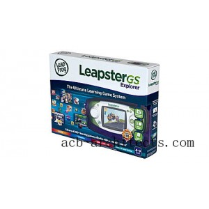 LeapsterGS Explorer™ (Pink) Ages 4-9 yrs. - Sale