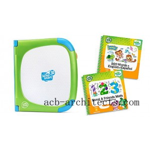 LeapStart® 3D System & 2 Book Combo Pack: Learning Friends and Scout & Friends Math Ages 2-7 yrs. - Sale