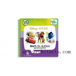 LeapStart® 2 Book Combo Pack: Math in Action and Toys Save the Day Ages 3-6 yrs. - Sale